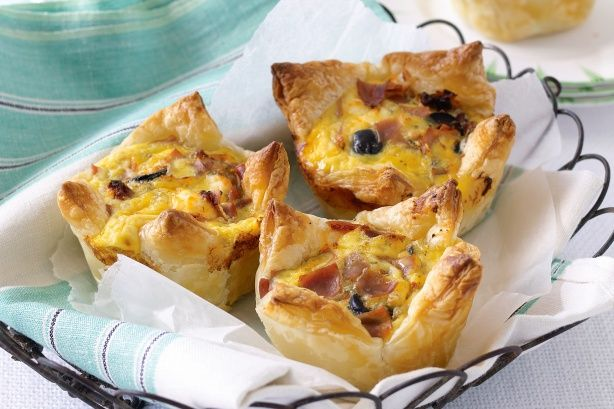 These little savoury pastries are perfect as antipasto or simply as everyday lunch-box fillers.