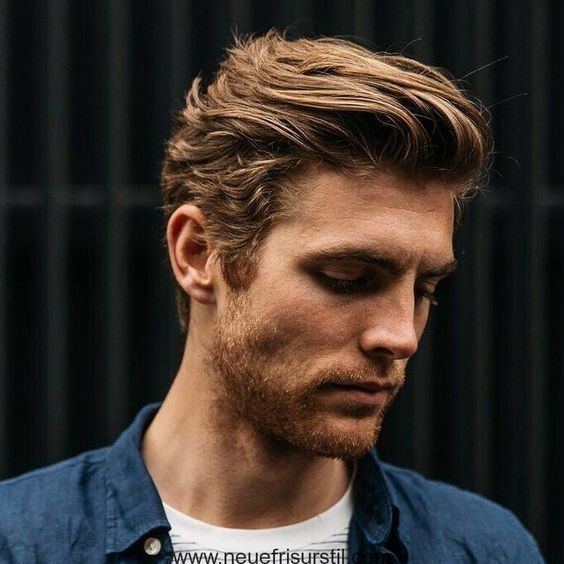 Men's Hairstyles Slightly longer # some #long #manner hairstyles