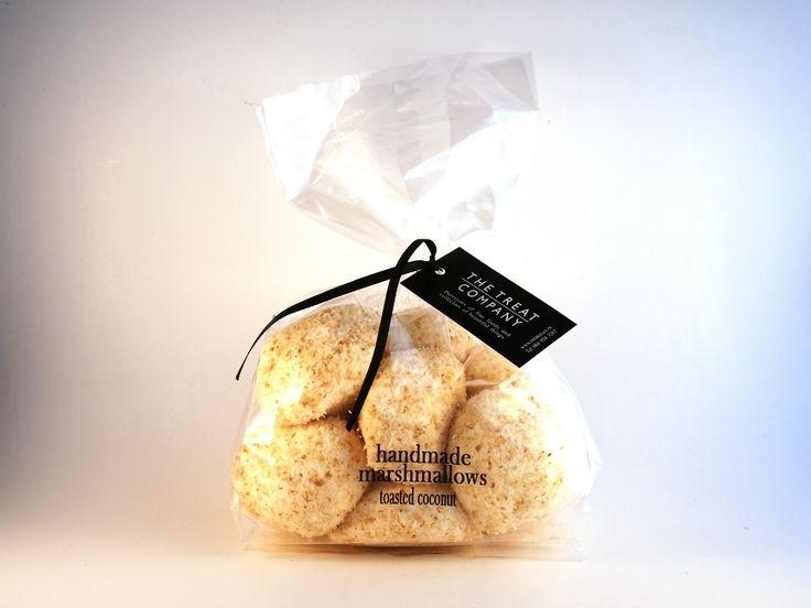 Toasted Coconut Marshmallows ribbon & tag 150g