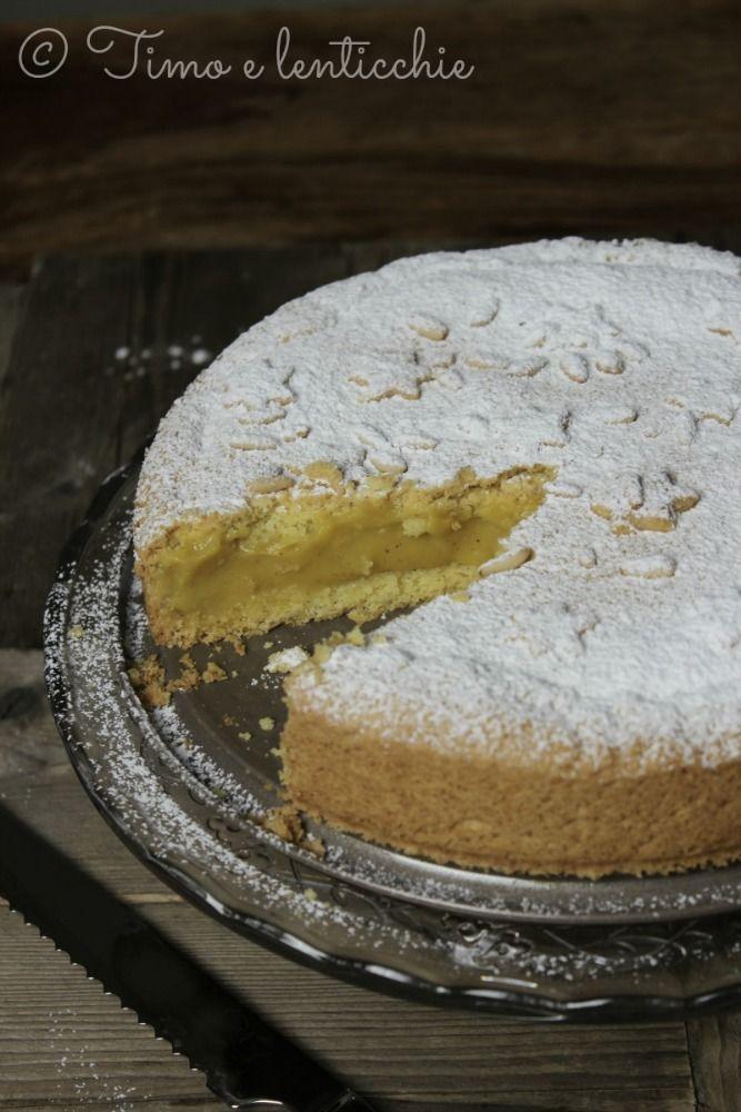 torta nonna vegana http://blog.giallozafferano.it/timoelenticchie/torta-della-nonna-vegan/