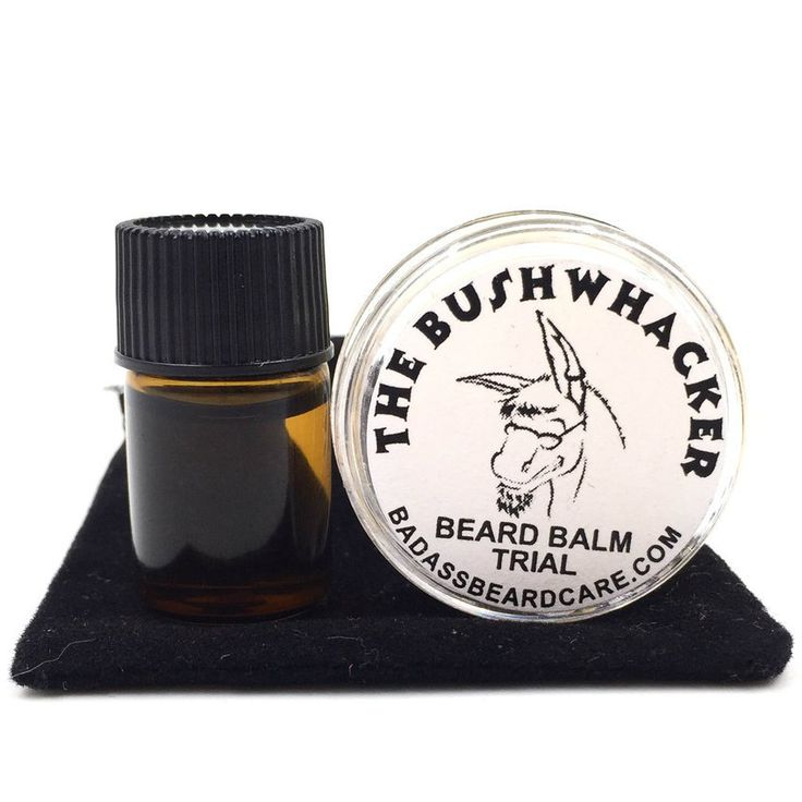 "Badass Beard Care - The Bushwhacker Trial Pack, $4.00 (https://badassbeardcare.com/the-bushwhacker-trial-pack/) ""The Bushwhacker"" is a natural insect repellent, scented with eucalyptus, lemongrass, grapefruit, and citronella. It's a very clean and uplifting scent that will keep those bugs at bay while you're out to play! If you like Lemon heads, you're gonna love this!"