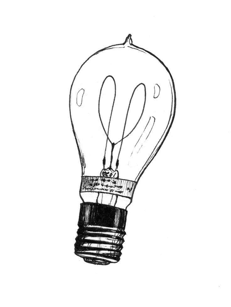 Line Drawing Light Bulb : Best light bulb drawing ideas on pinterest