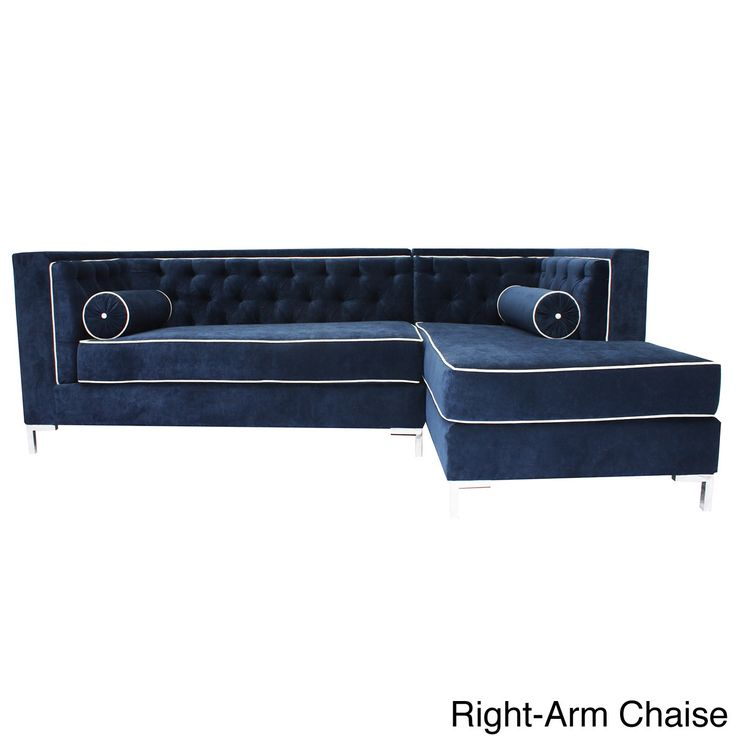 1000 Ideas About Tufted Sectional On Pinterest Tufted Sectional Sofa Blue Sofas And Sofa