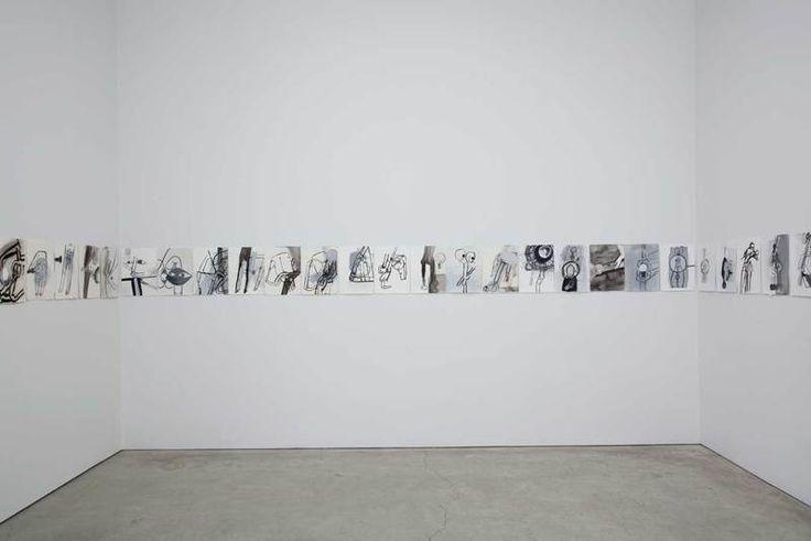 Amy Sillman drawings