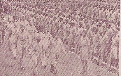 Indian National Army aka Azad Hind Fauj. It was a force formed to realize the dream of Subhash Chandra Bose. A full fledged army it was sup...