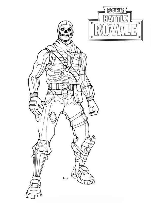 Fortnite Battle Royale Coloring Page Beef Boss Skin Outfit Marlo Brown Battle Beef Boss Brown Coloring Disegni Da Colorare Disegni Pagine Da Colorare