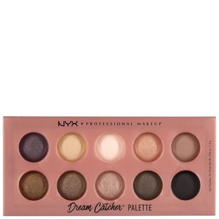 Buy NYX Professional Makeup Dream Catcher Shadow Palette - Dusk Til Dawn , luxury skincare, hair care, makeup and beauty products at Lookfantastic.com with Free Delivery.