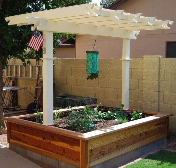 15 Stunning Container Vegetable Garden Design Ideas Tips: 261 Best Images About Landscaping Design Ideas On