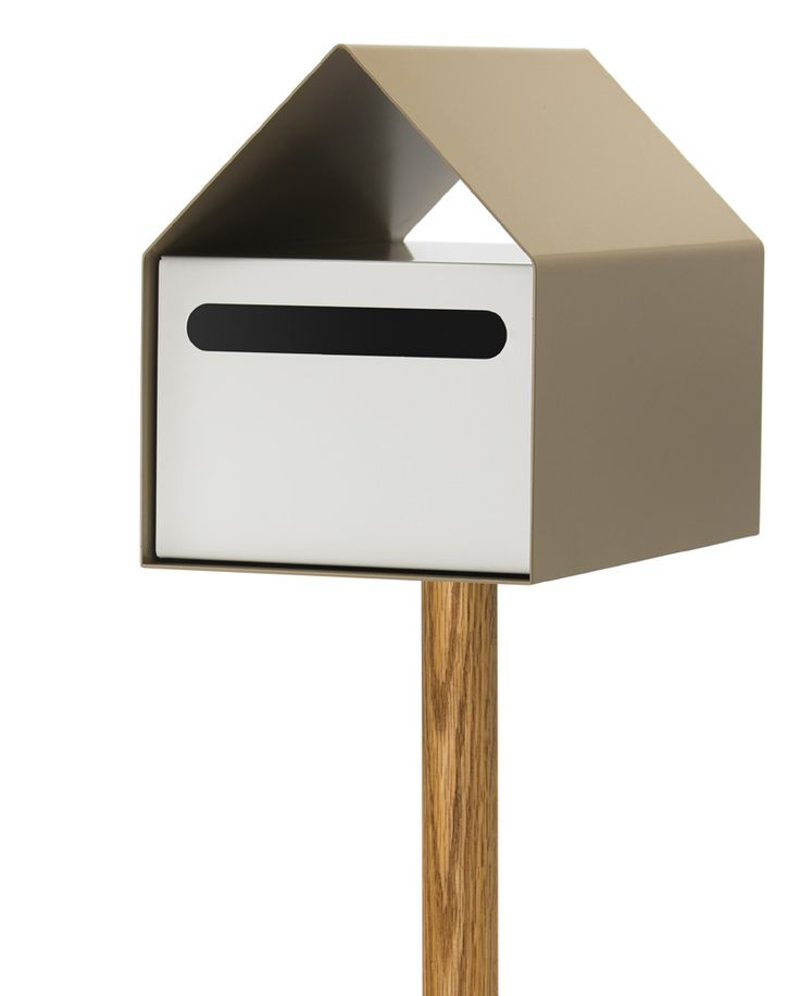 ARKO LETTERBOX - RIVERSAND/WHITE #formfunctstyle