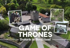 Game of Thrones Drehorte Nordirland: Rundreise zu den besten Drehorten und Originalschauplätzen – Winterfell, the Dark Hedges und den Eiseninseln.
