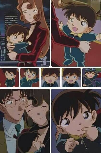 Baby Shinichi has to be one of the cutest babies ever ^,^
