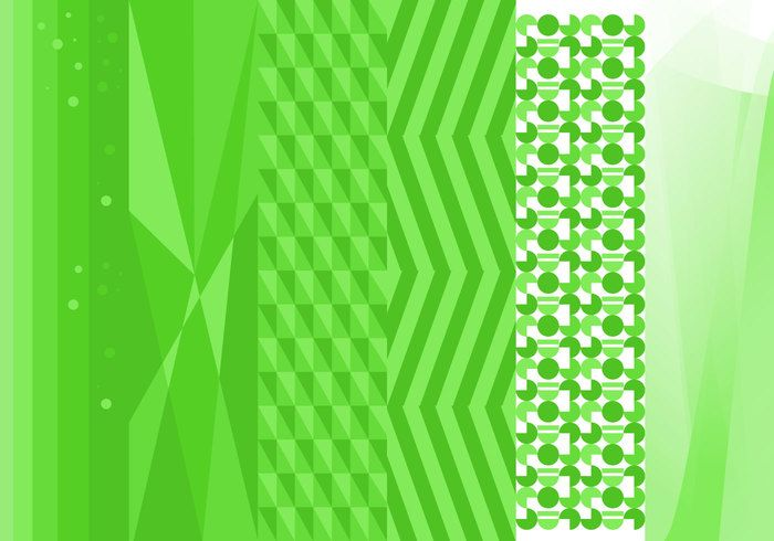 Free Green Background Vector #2