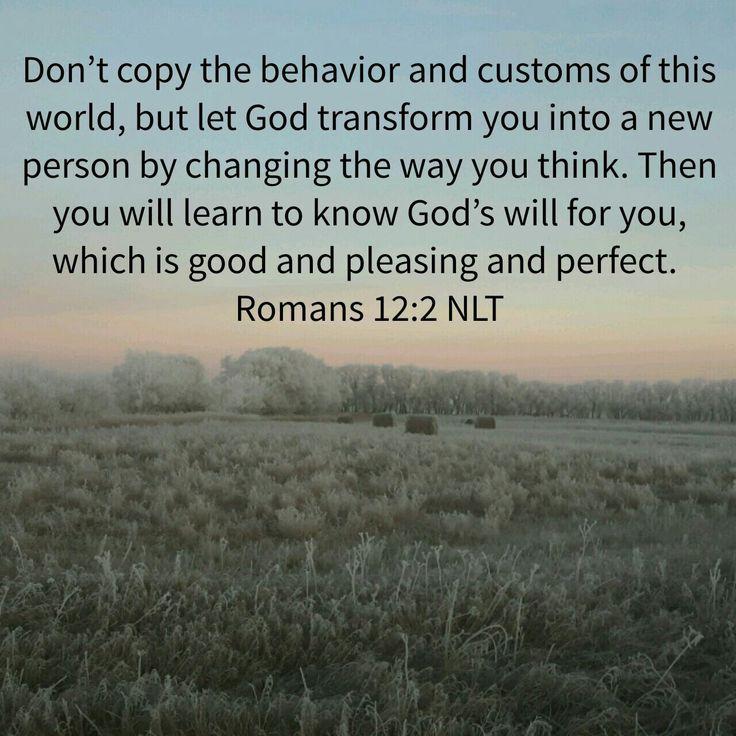 Romans 12:2 nlt