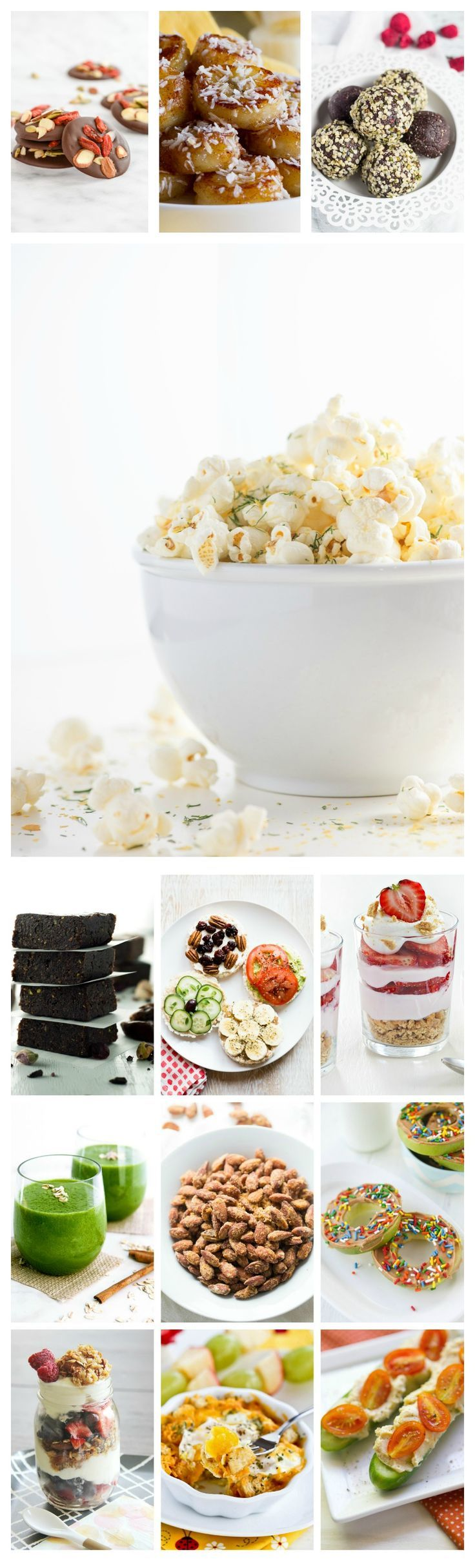 42 Brand new and original snack recipes prepared in under 5 minutes. No processed ingredients! Just healthy ways to enjoy real food. @Ilona's Passion