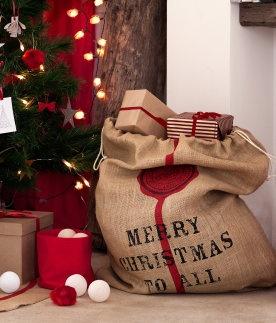 Christmas Presents Bag | HM Home