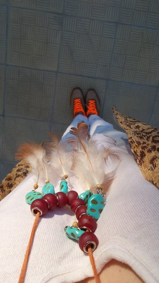 Barbeque/ Friends/ Sunny Day Necklace @ https://www.facebook.com/PeacefulPeopleHJ