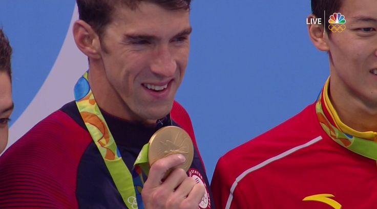 NBC Olympics Retweeted  Olivia Smoliga @OliviaSmoliga  23h23 hours ago Rio de Janeiro, Brazil SIMONE MANUEL EVERYBODY