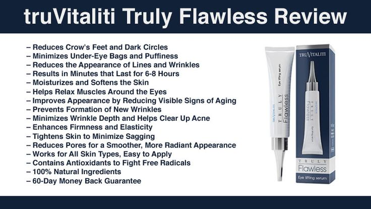 truVitaliti Truly Flawless Review: Fine Lines, Wrinkles, Dark Circles