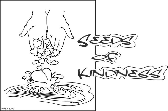 Sow seeds of kindness Bible Coloring