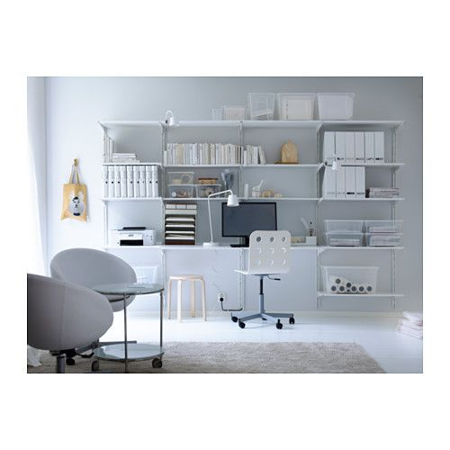 workspace and shelving algot wall upright shelves ikea home garden ikea love. Black Bedroom Furniture Sets. Home Design Ideas