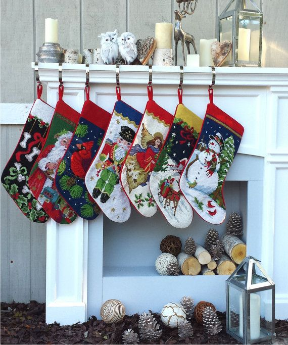 Angel Christmas Stockings Personalized