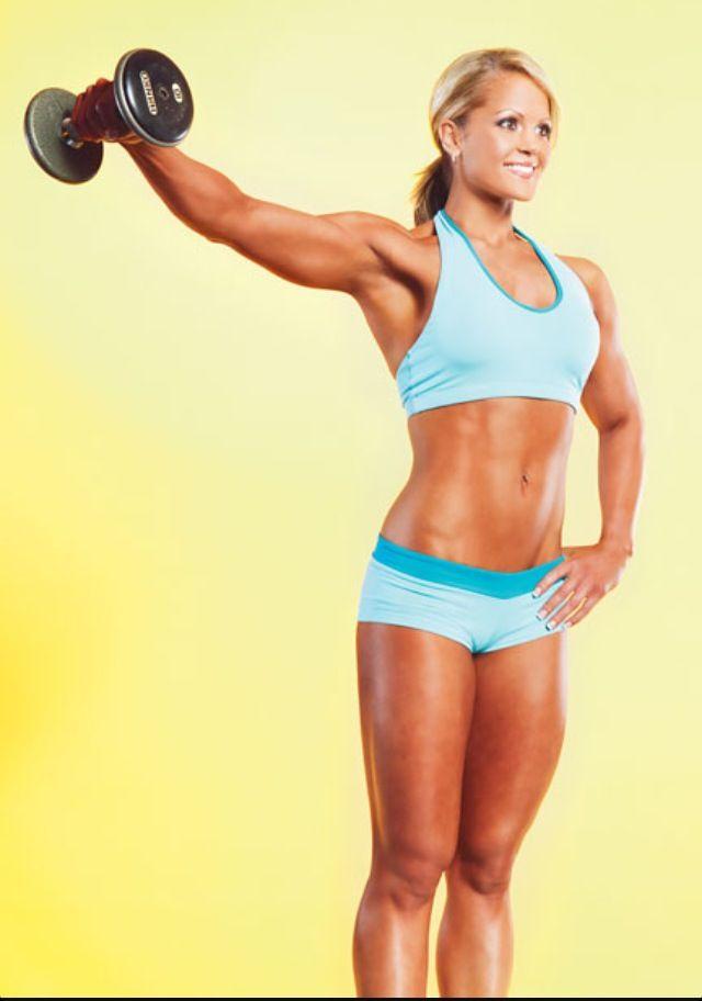 Nicole Wilkins | Motivation | Pinterest | Muscular women