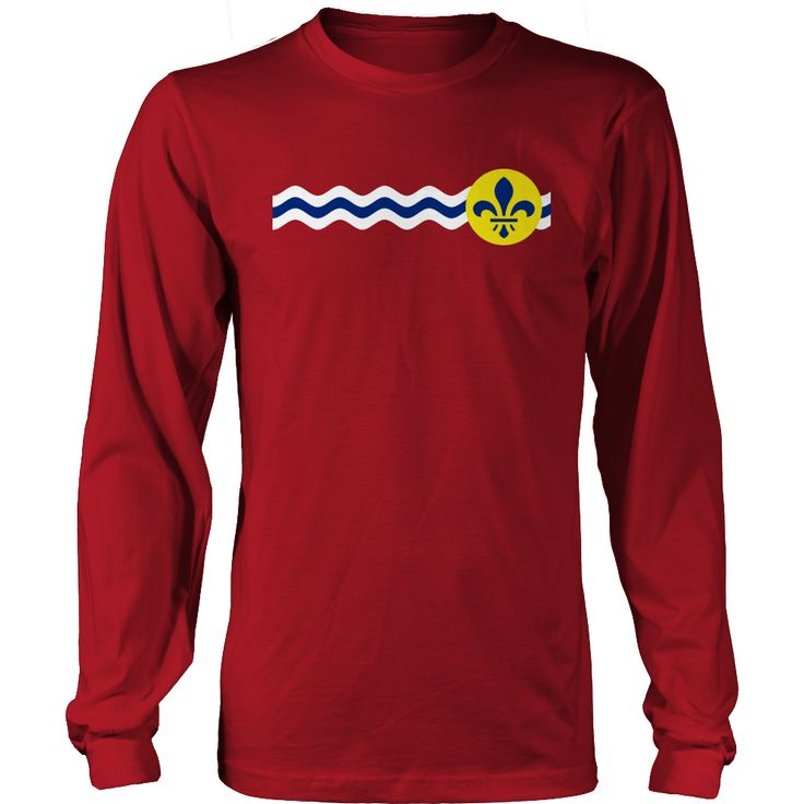 St. Louis City Flag - My State Shirts