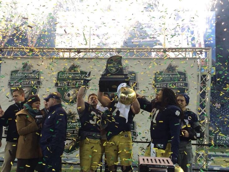 After win against LSU bowl game 2014