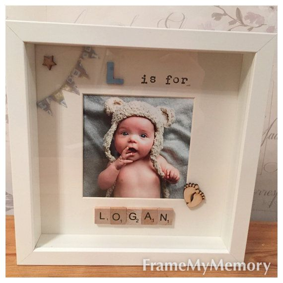Personalised Handmade Letter Scrabble Frame New by FrameMyMemory