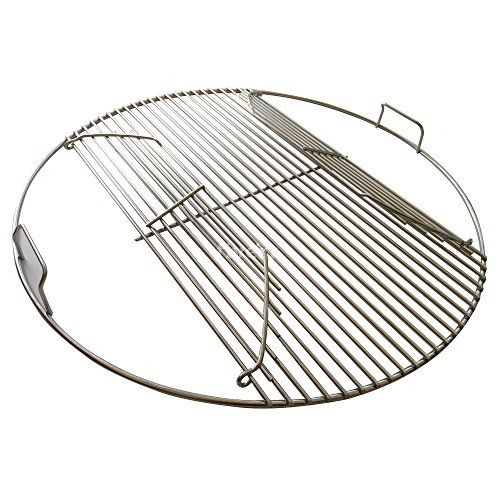 304 Stainless Steel Hinged Cooking Grate for 22.5 inch Weber Charcoal Grills * You can get additional details at the image link.