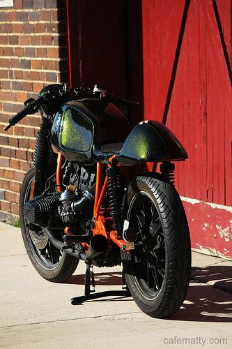 Cafe Matty's BMW R65 #CafeRacer #BMW #TonUp
