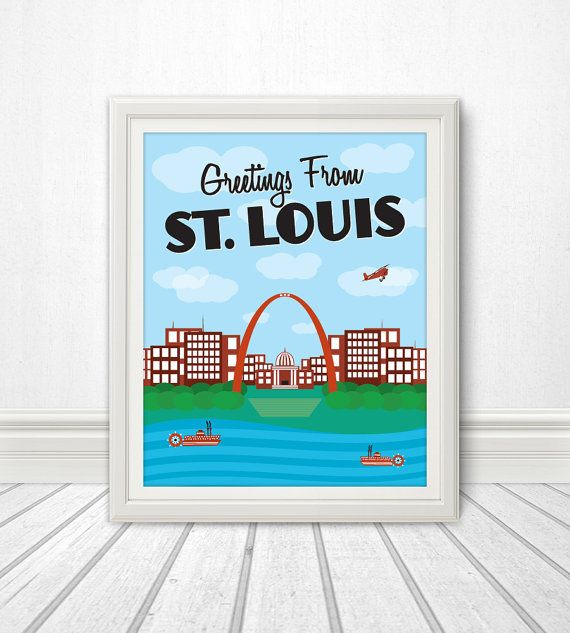 Hey, I found this really awesome Etsy listing at https://www.etsy.com/listing/166098451/st-louis-st-louis-skyline-st-louis