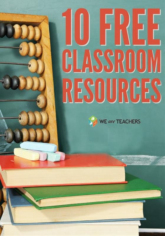 10 great free classroom resources vía @WeAreTeachers // 10 geniales recursos #2_0 gratuitos para el aula