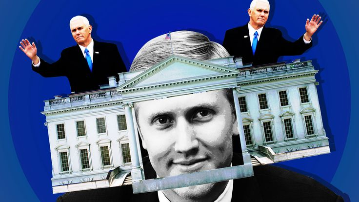 Thirty-four-year-old Nick Ayers has been a behind-the-scenes player in Vice President Mike Pence's political circle, and now he's about to take center stage as his chief of staff.