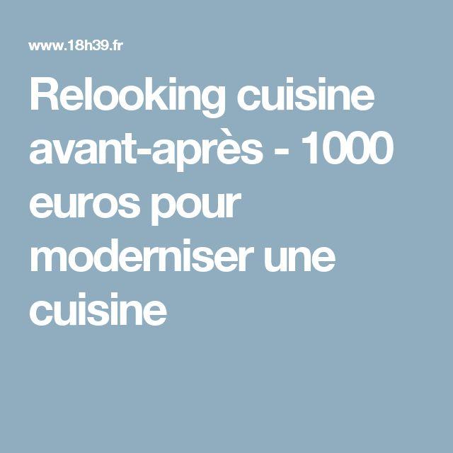 17 best ideas about cuisine avant apr s on pinterest - Relooking cuisine avant apres ...