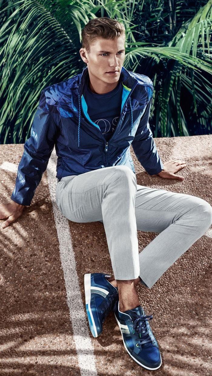 Hugo Boss 2015   Men's Fashion   Menswear   Men's Casual Outfit for Spring/Summer   Moda Masculina   Shop at designerclothingfans.com