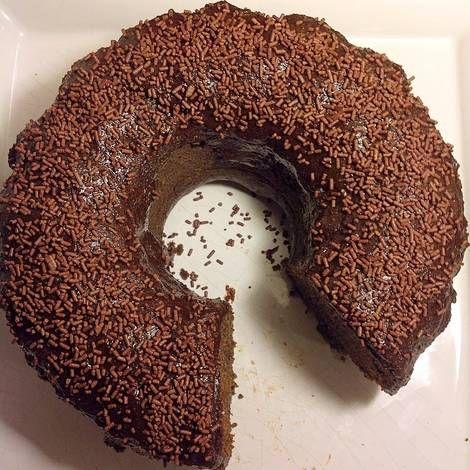 Torta de algarroba sin gluten y con especias