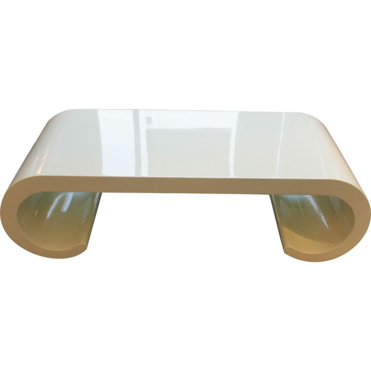 Soft yellow Coffee table in the manner of Karl Springer | From a unique collection of antique and modern coffee and cocktail tables at https://www.1stdibs.com/furniture/tables/coffee-tables-cocktail-tables/