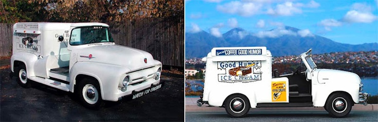Couple of Good Humor Ice Cream Trucks
