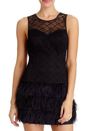 2B Dahlia Lace &Feather Dress