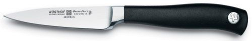 Wusthof Grand Prix II 3 1/2 inch Paring Knife 4040-9 by Wusthof. $34.95. High-carbon surgical stainless steel, ensuring a razor sharp and long lasting edge. Great for vegetable peeling or mincing small amounts of parsley. Steel alloy provides for a razor-sharp edge. Small pointed blade great for peeling vegetables and for all small cutting jobs. Stain, rust and corrosion resistant. The short blade functions as an extension of your hand for excellent maneuverability i...