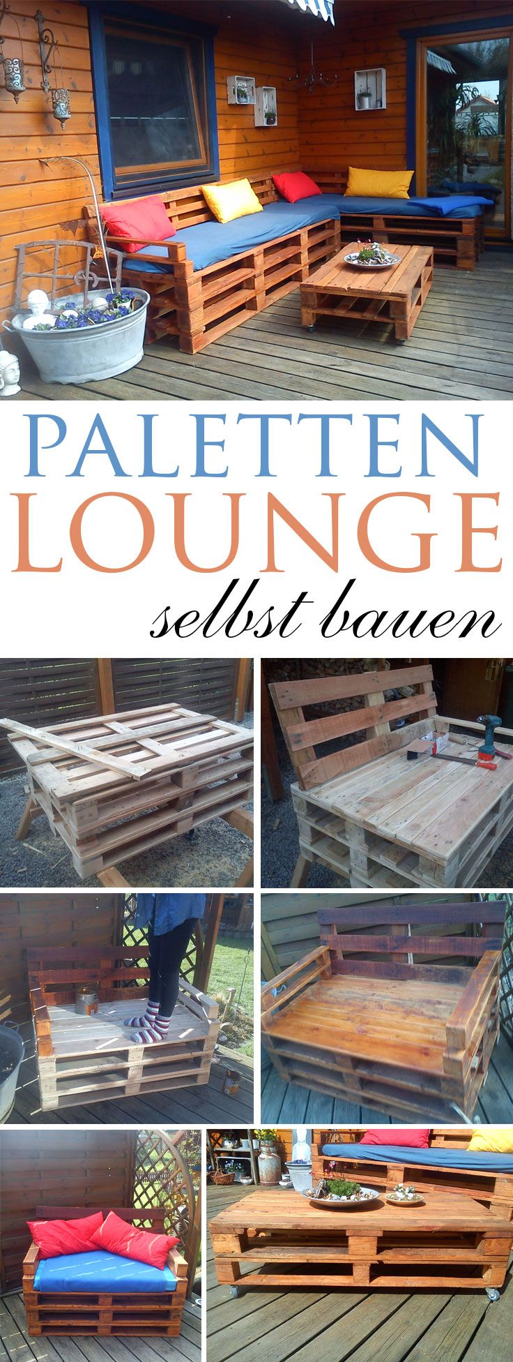 die besten 17 ideen zu lounge aus paletten auf pinterest loungem bel garten palettenm bel. Black Bedroom Furniture Sets. Home Design Ideas