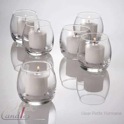 Set of 72 Petite Hurricane Votive Candle Holders Bulk