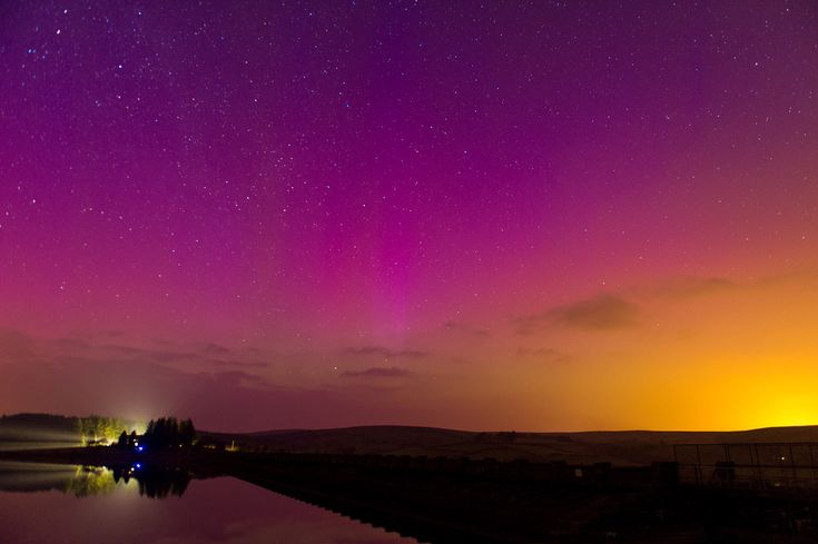 The Northern Lights Over The UK Last Night Were Pretty Amazing - BuzzFeed News