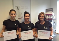 Three students are brought together through Dermalogica's expert training programme!  http://www.beautyguild.com/news.asp?article=2590