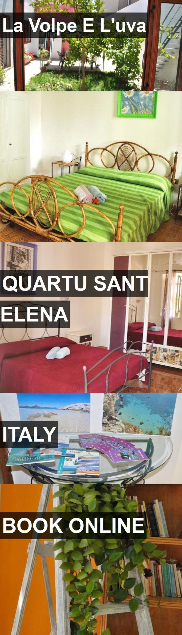 Hotel La Volpe E L'uva in Quartu Sant Elena, Italy. For more information, photos, reviews and best prices please follow the link. #Italy #QuartuSantElena #travel #vacation #hotel