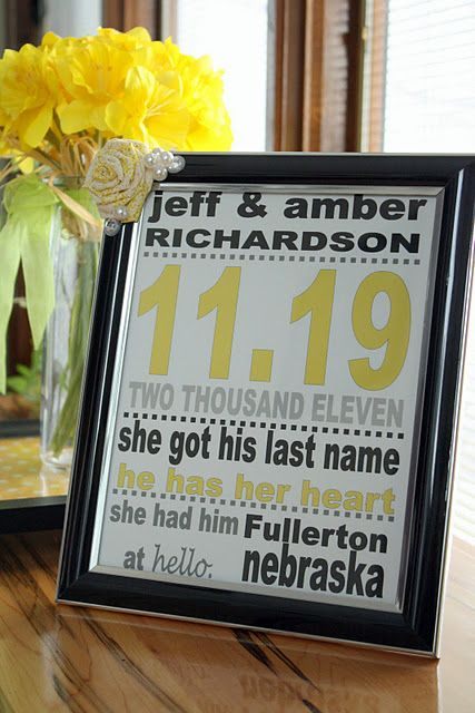 Best 25 inexpensive wedding gifts ideas on pinterest diy unique super personal and inexpensive baby or wedding gift negle Image collections