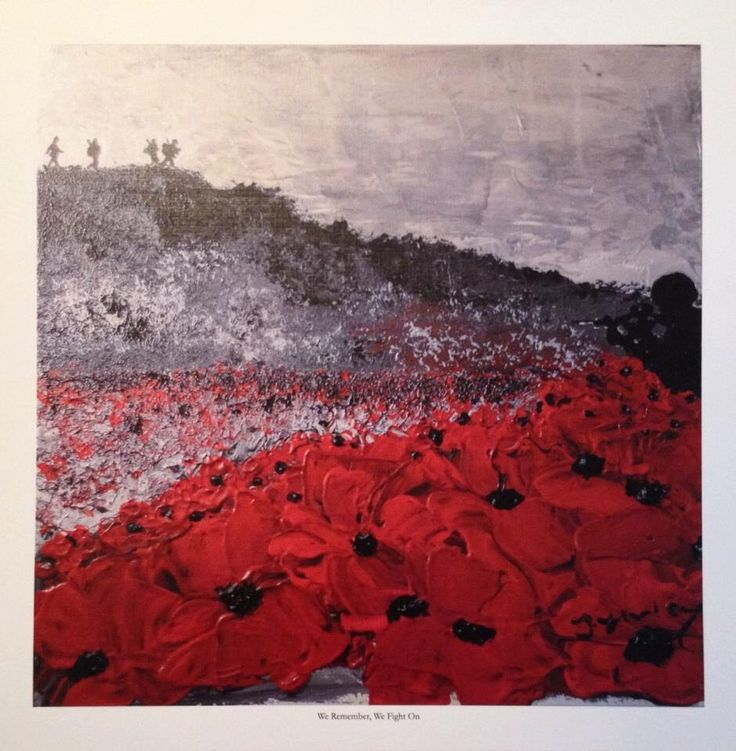 We Remember, We Fight On, from the War Poppy Collection No.1 by Jacqueline Hurley. Professional quality print in remembrance of Our Heroes by PortOutStarboardHome on Etsy https://www.etsy.com/listing/213026012/we-remember-we-fight-on-from-the-war