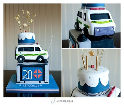 Happy Birthday Shortland Street  Cake by Scrumptiousjo