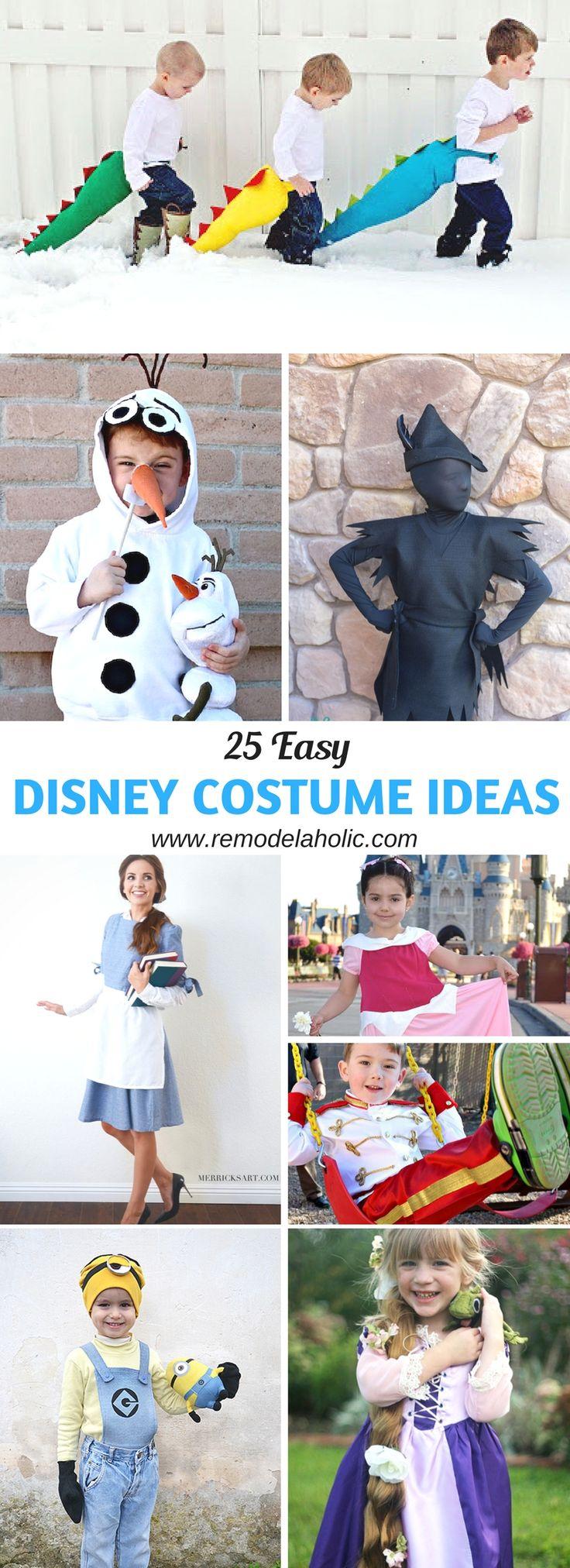 25 easy disney costume ideas